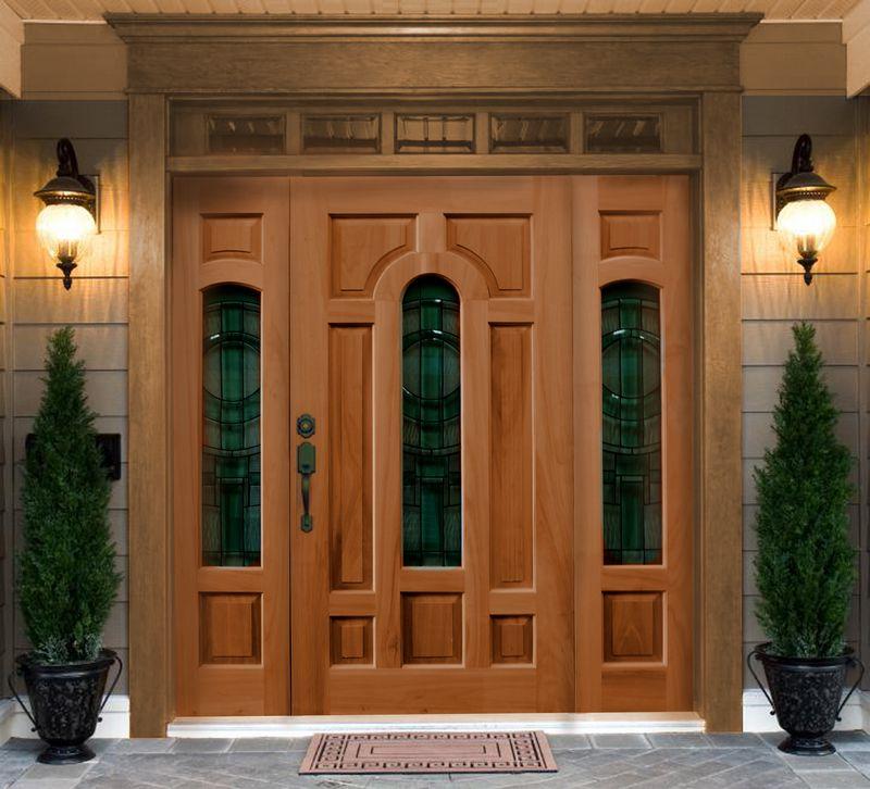 Puertas de occidente for Modelos de puertas principales