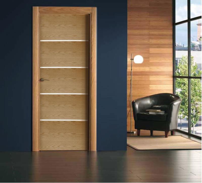 Puertas de occidente for Puertas de madera interiores minimalistas